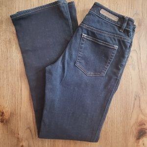 Elie Tahari Classic HighWaisted Straight Leg Jeans